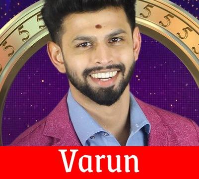 Bigg Boss 5 Tamil Varun