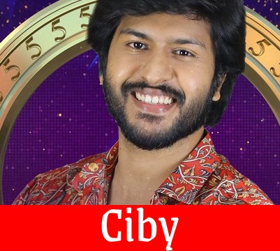 Bigg Boss 5 Tamil Ciby